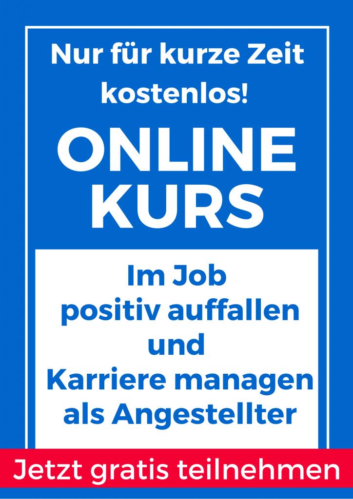 Online Kurs Selbstmarketing