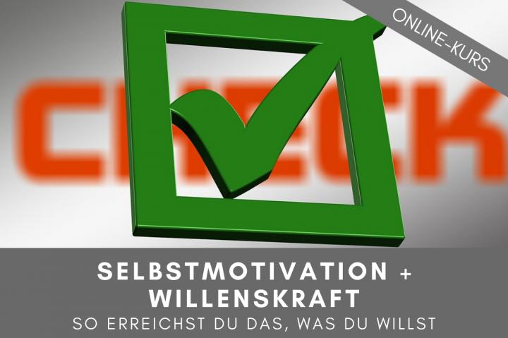 Selbstmotivation, Motivation, Selbstdisziplin, Willenskraft, Selbstmanagement, Seminar, Kurs, Online, Ziele erreichen
